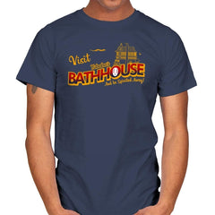 Visit the Bathhouse - Mens - T-Shirts - RIPT Apparel