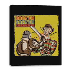 Rock'em Sock'em Killers - Canvas Wraps - Canvas Wraps - RIPT Apparel