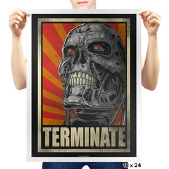 TERMINATE! - Prints - Posters - RIPT Apparel