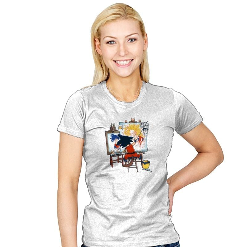 Paint the Future - Womens - T-Shirts - RIPT Apparel