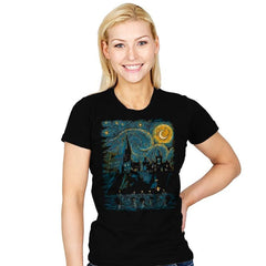 Starry School - Womens - T-Shirts - RIPT Apparel