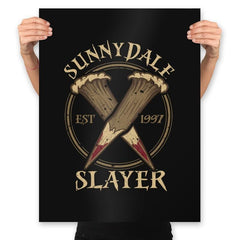 Sunnydale Slayer - Prints - Posters - RIPT Apparel