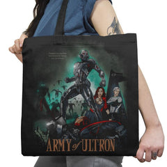 Army of Robots Exclusive - Tote Bag - Tote Bag - RIPT Apparel
