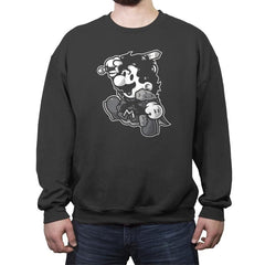 Mario Snow - Crew Neck Sweatshirt - Crew Neck Sweatshirt - RIPT Apparel