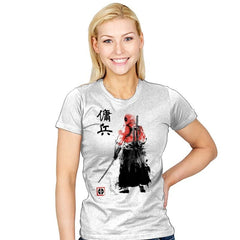 Ronin Mercenary Reprint - Womens - T-Shirts - RIPT Apparel