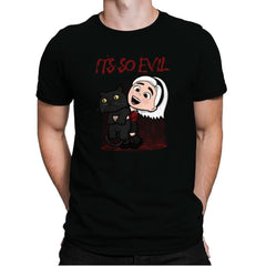 It's So Evil - Mens Premium - T-Shirts - RIPT Apparel