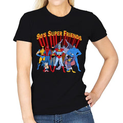 90's Super Friends - Anytime - Womens - T-Shirts - RIPT Apparel