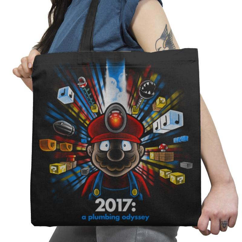 2017: A Plumbing Odyssey Exclusive - Tote Bag - Tote Bag - RIPT Apparel
