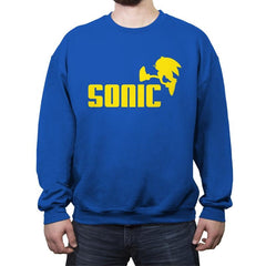 Hedgehog - Crew Neck Sweatshirt - Crew Neck Sweatshirt - RIPT Apparel