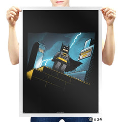 Minibat: The Animated Series - Prints - Posters - RIPT Apparel