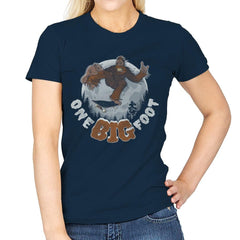 One Big Foot - Womens - T-Shirts - RIPT Apparel