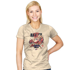 Akitty  - Womens - T-Shirts - RIPT Apparel