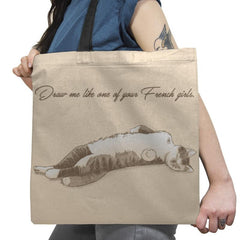 Like One of Your French Girls Exclusive - Tote Bag - Tote Bag - RIPT Apparel