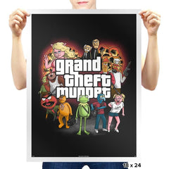 Grand Theft Muppet - Prints - Posters - RIPT Apparel