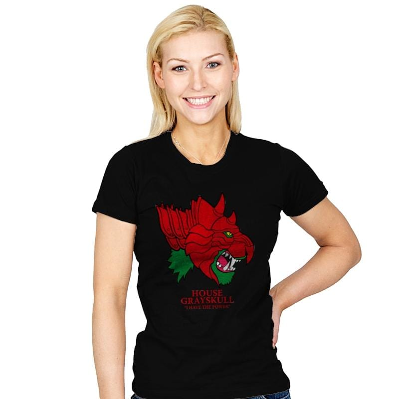 House of Grayskull - Womens - T-Shirts - RIPT Apparel