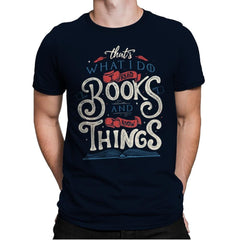 I Read Books - Mens Premium - T-Shirts - RIPT Apparel