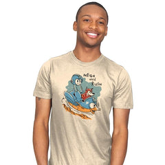Mega and Rush - Mens - T-Shirts - RIPT Apparel
