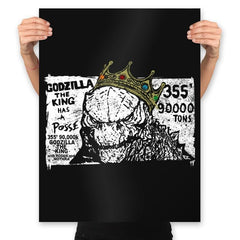 The Big King - Prints - Posters - RIPT Apparel