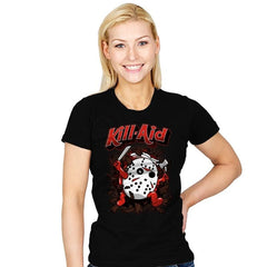 Kill-Aid Rotten Strawberry Flavor - Womens - T-Shirts - RIPT Apparel
