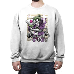 Samurai Joke - Crew Neck Sweatshirt - Crew Neck Sweatshirt - RIPT Apparel