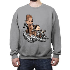 The New Pilot - Crew Neck Sweatshirt - Crew Neck Sweatshirt - RIPT Apparel
