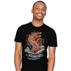 Ramen Dragon - Mens - T-Shirts - RIPT Apparel