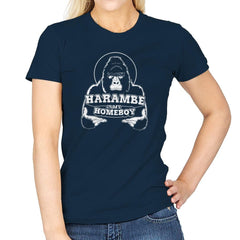 Harambe is my Homeboy Exclusive - Womens - T-Shirts - RIPT Apparel