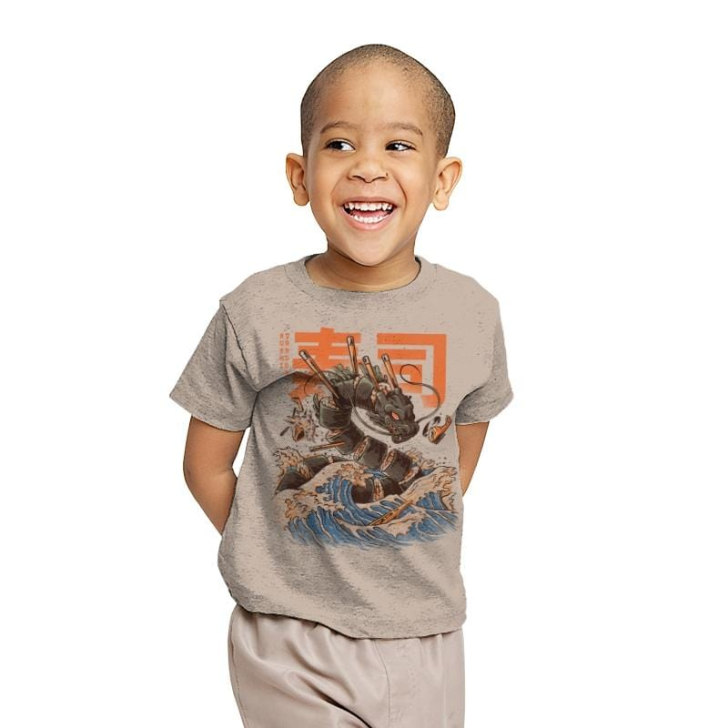 Great Sushi Dragon  - Youth - T-Shirts - RIPT Apparel