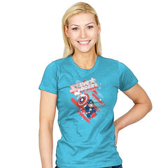 Steven Rogers - Womens - T-Shirts - RIPT Apparel