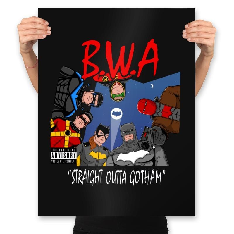 Straight Outta Goth - Prints - Posters - RIPT Apparel