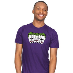 The Joke Has Many Faces Reprint - Mens - T-Shirts - RIPT Apparel
