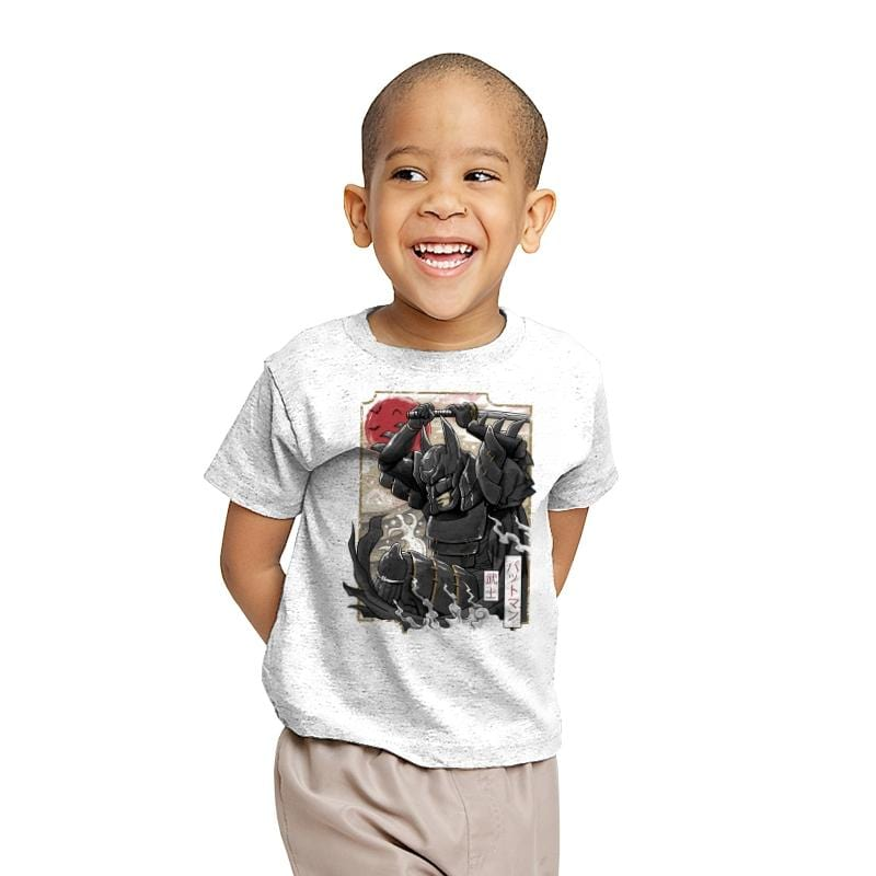 Dark Samurai Knight - Youth - T-Shirts - RIPT Apparel