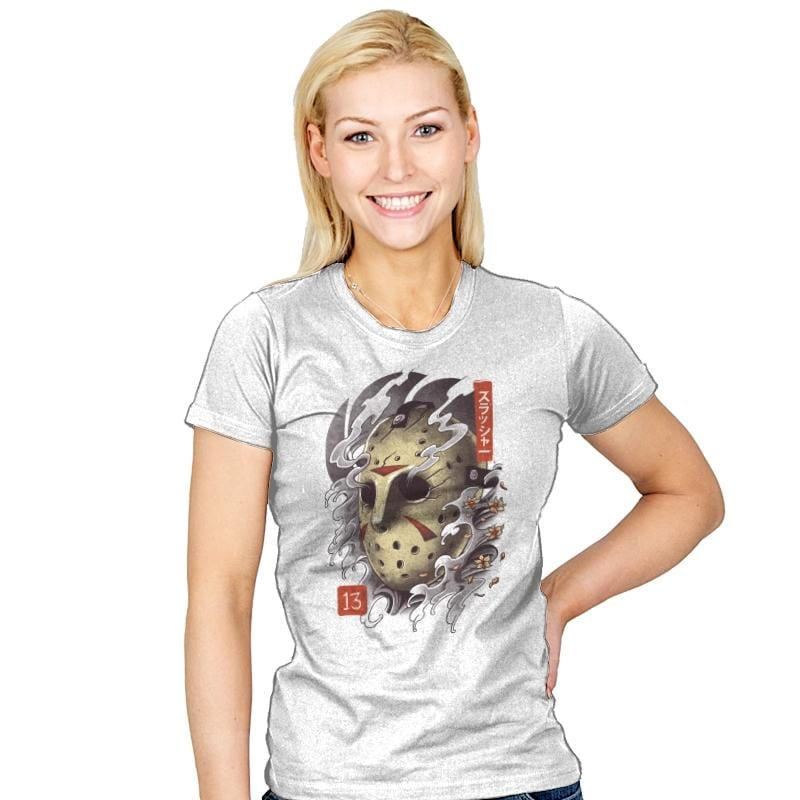 Oni Jason Mask - Womens - T-Shirts - RIPT Apparel