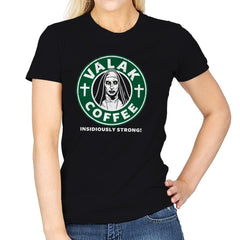 Valak Coffee - Womens - T-Shirts - RIPT Apparel