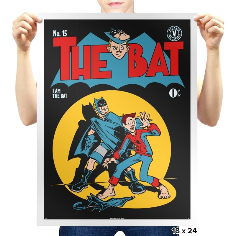The Bat Exclusive - Prints - Posters - RIPT Apparel