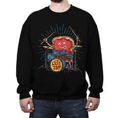 Let's Jam - Crew Neck Sweatshirt - Crew Neck Sweatshirt - RIPT Apparel