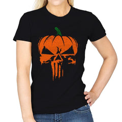 The Pumpkinsher - Womens - T-Shirts - RIPT Apparel