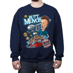 Butt Munch - Crew Neck Sweatshirt - Crew Neck Sweatshirt - RIPT Apparel
