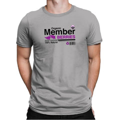 Organic Member Berries - Mens Premium - T-Shirts - RIPT Apparel