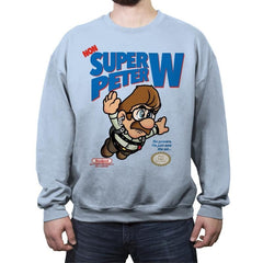Non-Super Peter W - Crew Neck Sweatshirt - Crew Neck Sweatshirt - RIPT Apparel