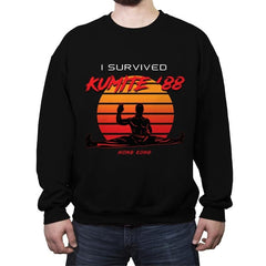 Kumite '88 - Crew Neck Sweatshirt - Crew Neck Sweatshirt - RIPT Apparel