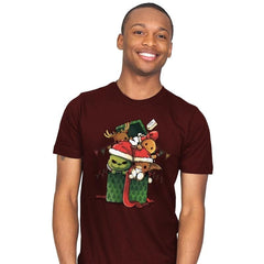 Christmas Pets - Mens - T-Shirts - RIPT Apparel