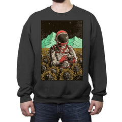 Outer Space Man - Crew Neck Sweatshirt - Crew Neck Sweatshirt - RIPT Apparel