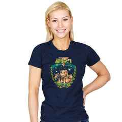 A Kitty to the Past - Womens - T-Shirts - RIPT Apparel
