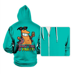 I Want You To PARTY! - Hoodies - Hoodies - RIPT Apparel