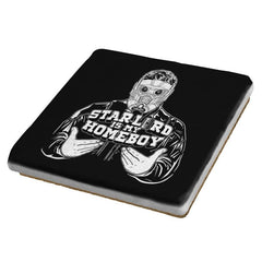 Home-Lord Is My Starboy - Coasters - Coasters - RIPT Apparel