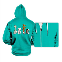 Pets on Abbey Road - Hoodies - Hoodies - RIPT Apparel