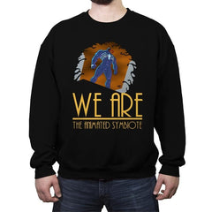 We Are Animated  - Crew Neck Sweatshirt - Crew Neck Sweatshirt - RIPT Apparel