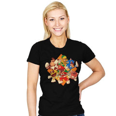Mighty Gaming Rangers - Womens - T-Shirts - RIPT Apparel