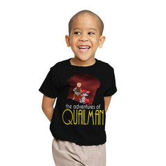 Adventures of Quailman - Youth - T-Shirts - RIPT Apparel